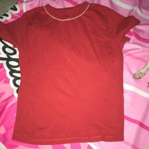 Red brandy tee